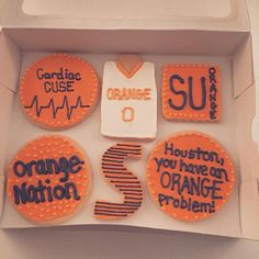 When your team makes the final four, you bake. When your team loses in the final four, you eat previously baked cookies.  #royalicing #royalicingcookies #cookiedecor #orangenation #cuse #cusenation #finalfour #marchmadness