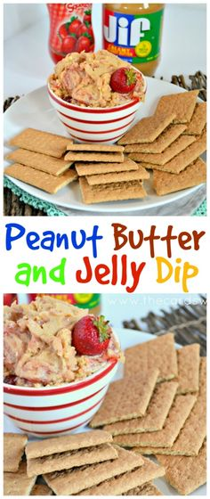 Peanut Butter and Jelly Dip from The Cards We Drew #SamsClubBTS…