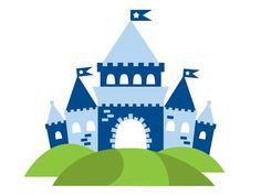 Knight Castle Wall Decal