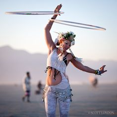 Rare Photos Reveal The Most Beautiful Things Found At Burning Man