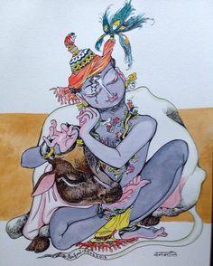 Vanamali : from the Vatsalyam series. #Krishnafortoday