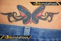 Patriotic American Eagle Rebel Flag Redneckshirt Ebay | girls with ...