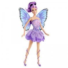 Barbie Mariposa & the Fairy Princess Friends Doll - Purple