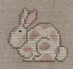 Garden Grumbles and Cross Stitch Fumbles: Fanci That - Rabbit
