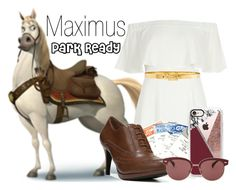 """""""Maximus~ DisneyBound"""" by basic-disney ❤ liked on Polyvore featuring River Island, LifeStride, Casetify, Oliver Peoples and Alexander McQueen"""