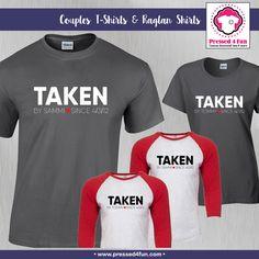 Valentine's Day Shirts | Taken Design | Pressed 4 Fun | Valentine's Day Gifts