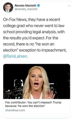 Yeah That's kinda one of the requirements for impeachment. In order for someone to be impeached they have to have won an election. Toyota Lasagna is so dumb‍♂️