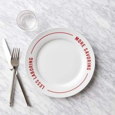 Throw a better pizza party. Our Less Laboring, More Savoring Red Stripe Pizza Plate provides a simple and stylish alternative to the usual styrofoam option. Party Market, Serveware, Tableware, Modern Dinnerware, Good Pizza, 5 Pizza, Pizza Party, Serving Platters, Dinner Plates