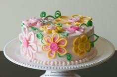 flower cake.  wonder if I could make this