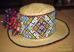 Seed Bead Bracelets, Seed Beads, Beaded Hat Bands, Peyote Stitch, Head And Neck, Bead Weaving, Captain Hat, Ukraine, Costumes