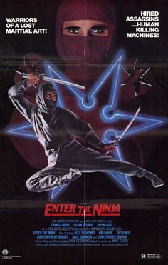Enter the Ninja 11x17 Movie Poster (1981)