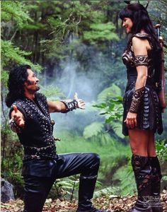 Ares proposing to Xena in episode Soul Possession - The Final Season