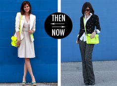 Fun...the bright yellow bag pops in both summer and winter.