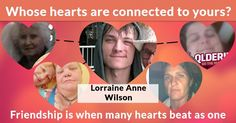 Whose hearts are connected to yours?