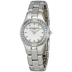 Baume and Mercier Linea Diamond Ladies Watch 10013 #BaumeetMercier