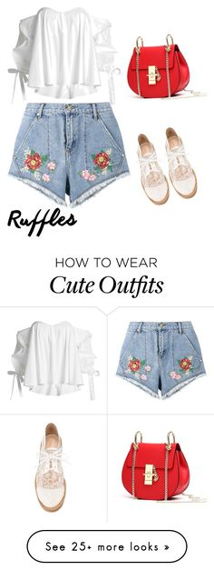 """So cool and cute outfit"" by anielle-fashion on Polyvore featuring House of Holland, Caroline Constas and Nicholas Kirkwood"