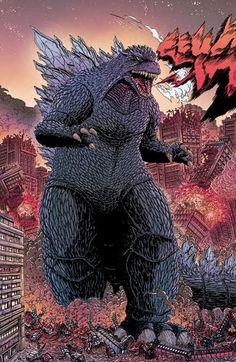 Preview: Godzilla: The Half-Century War #1 (IDW)