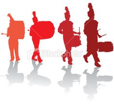 marching band silhouettes free band nerds pinterest marching rh pinterest com Drumline Words Drumline Silhouette
