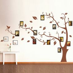 Fashion Memory Tree Pattern Home Decor Removeable Wall Stickers