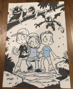 Cartoon Monsters, Illustration Kids, Comic Art, Indie, Sketches, Island, Comics, Instagram, Drawings