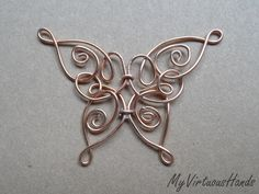 Celtic Butterfly Pendant  •  Make a wire wrapped pendant in under 30 minutes