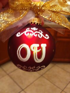 OU ornament