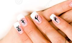 24 Dance Nail Decals by DeeLuxDesigns on Etsy, $4.25
