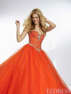 Red and Blue Prom Dresses