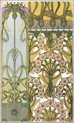Alfons Mucha-Document décoratif -1901