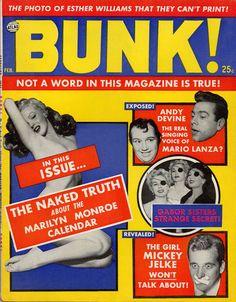 Bunk, February 1956. (Marilyn Monroe)