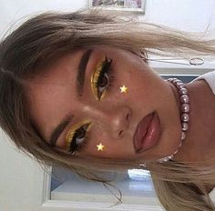 67 ideas make-up ideas yellow faces for 2019 - ❤ make-up ❤ - # for . - 67 ideas make-up ideas yellow faces for 2019 – ❤ make-up ❤ – # for … - Rave Makeup, Glam Makeup, Skin Makeup, Makeup Inspo, Makeup Art, Makeup Inspiration, Beauty Makeup, Flawless Face Makeup, 80s Makeup