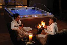 Qui pour une belle soirée spa ? www.aquilus-spas.com