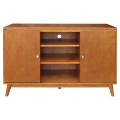 Mid Century Modern Large Accent Cabinet