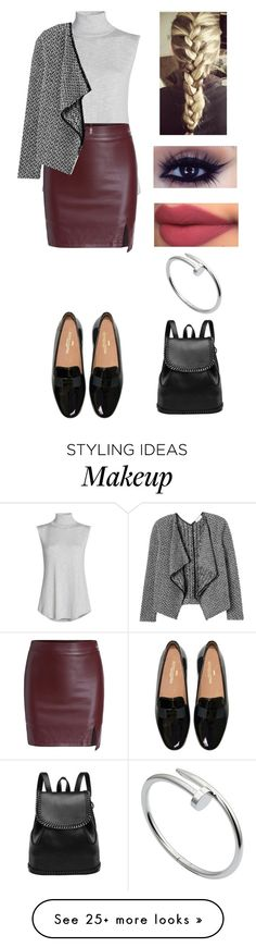 """""""Untitled #147"""" by carteraj on Polyvore featuring moda, NIC+ZOE, Cartier y Rebecca Taylor"""
