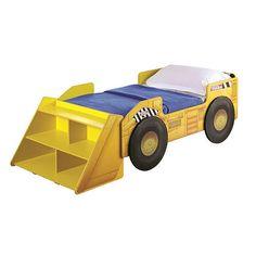 Tonka Truck Toddler Bed with Storage Shelf | ToysRUs
