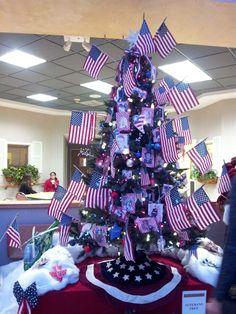 Navidad Patriota en honor a los veteranos.