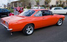 corvair   1965 Corvair 500 Coupe - orange - 8rvr - AACA Photo Gallery