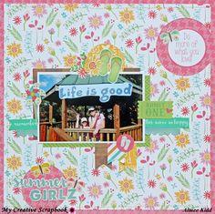 Summer Girlz - Scrapbook.com Photoplay Bucket List