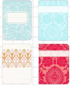 """Many many project life printables -- free from Cute Things I Made """"freebie friday"""" Print & Cut .studio files #Silhouette #Cameo"""