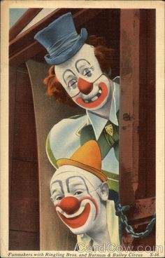Clowns from Ringling Bros. and Barnum & Bailey Circus