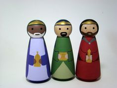 Wisemen peg people