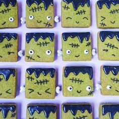 Creeping It Real With These Tea-Licious Frankenstein Halloween Cookies Recipe