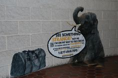 The Substitute Sasquatch: In the state of Washington, The Wide Format Company helps replace the Renton History Museum's stolen banner.