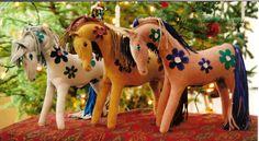 Leather ponies, ca. 2005-07, by Sara MacIntyre, by Sara MacIntyre