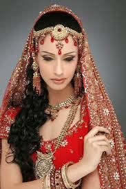 Traditional Red and Gold Bridal Dress