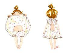 Ballet Fashion, Fashion Art, Baby Presents, Girl Stuff, Creative Inspiration, Baby Love, Little Boys, Watercolors, Illustrators