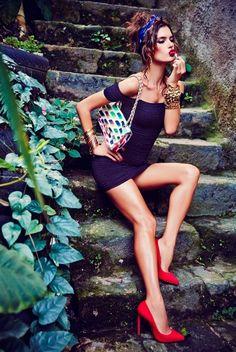 Vogue Brazil Setembro 2014   Alessandra Ambrosio by Ellen Von Unwerth