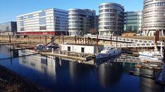 Duisburg Inner Harbour - Port wewnętrzny w Duisburgu