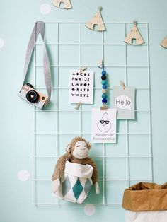 A space for hanging precious things Baby Decor, Kids Decor, Kids Storage Furniture, Cosy Room, Futons, Kids Corner, Creative Kids, My New Room, Kids House