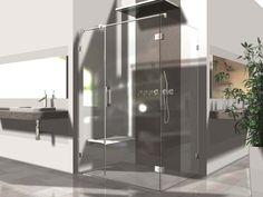 Sklenená sprcha so špičkovými kovaniami FLAMEA PLUS s 5 ročnou zárukou. Využitie pre výklenkové, rohové, 5 uholníkové, U sprchy alebo vane.
